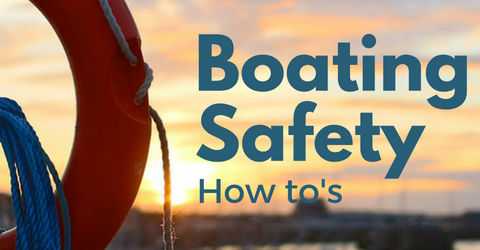 boating safety header for Jet Dock's 4 ways to improve boating safety article