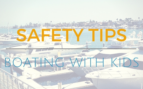 Safety tips for boating with kids header from JetDock Systems
