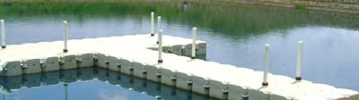 JetDock's Floating Dock system