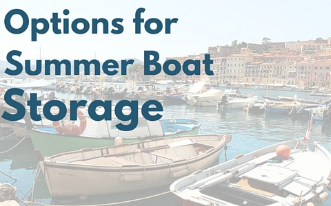 Summer storage options for your boat from JetDock.com
