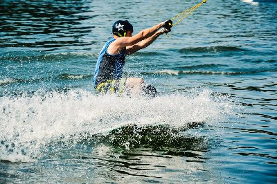 wakeboarding during the summer