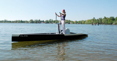 workout with a elliptical boat