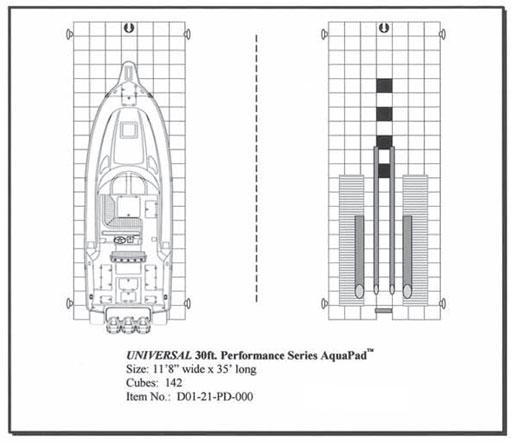 30 u0026 39  performance boat dock