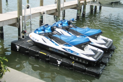 Jet Ski Lifts For Sale >> Double Floating Jet Ski Dock Lifts For Jet Skis Seedoo Lifts And