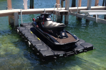 Jet Ski Lifts For Sale >> Double Floating Jet Ski Dock Double Jet Ski Lift Dock For Pwc