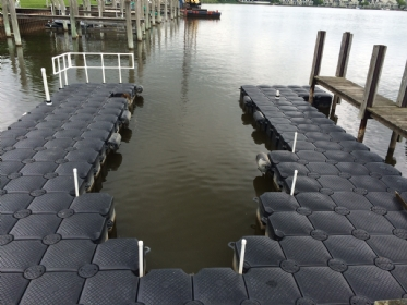 modular floating boat dock